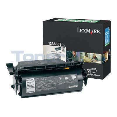 LEXMARK T620 TONER CTG FOR LABEL APPS RP 30K